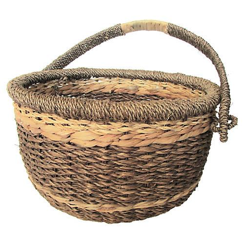 Indonesian Sea-Grass Basket