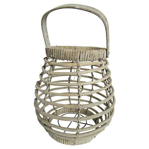 French Egg Gathering Basket