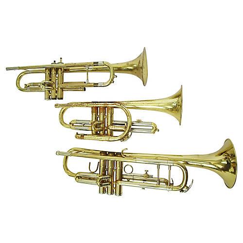 1950's Brass Christmas Horns