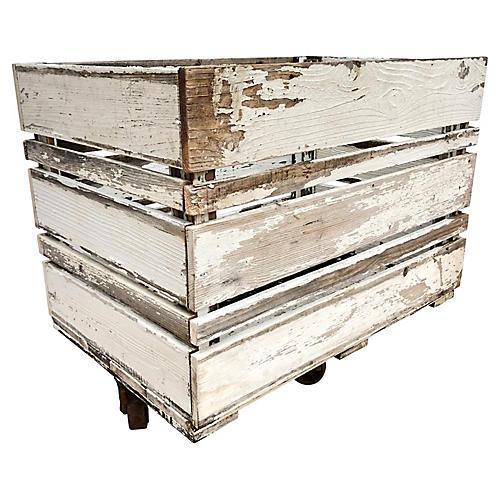 Farmhouse Trolly Cart
