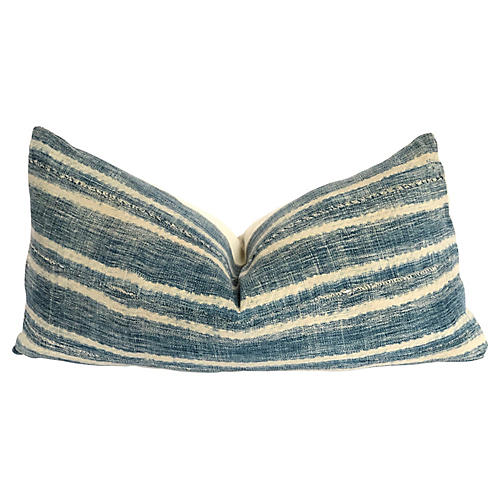 Malian Mud-Cloth Lumbar Pillow