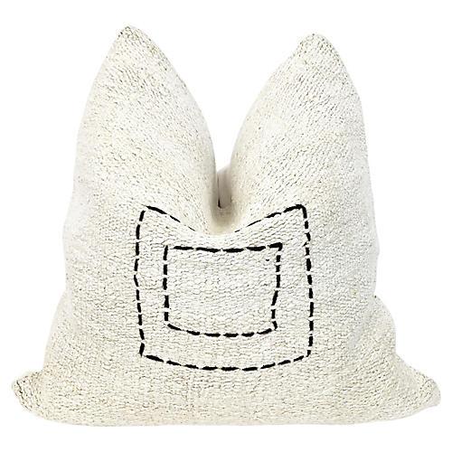 Handwoven Hemp/Linen Pillow