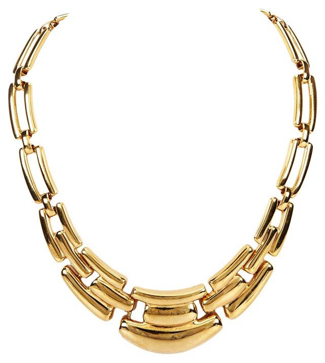 1980s Napier Link Necklace