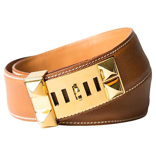 Hermès Collier de Chien Epsom Belt