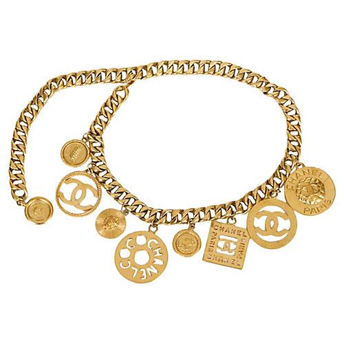 Chanel Oversize Charm Belt, 1993