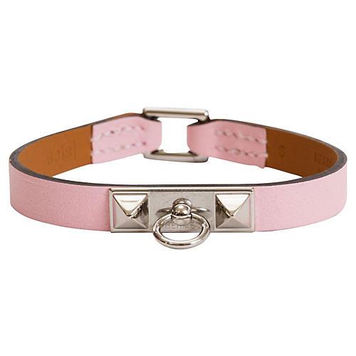 Hermès Pink Mini Medor Bracelet