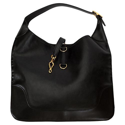 Hermès Large Black Shoulder Bag