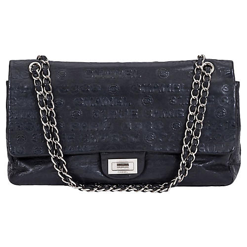 Chanel Maxi Double Flap Black Bag