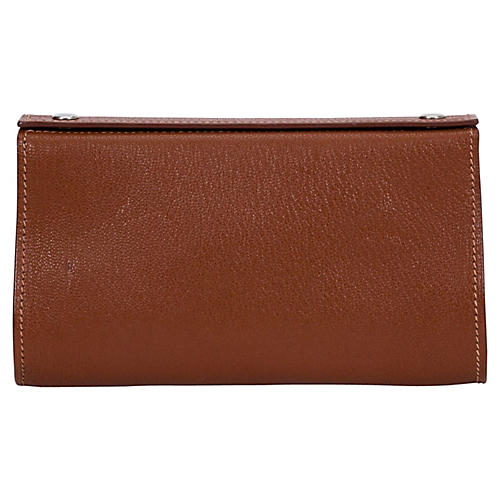 Hermès Gold Chevre Small Pouch