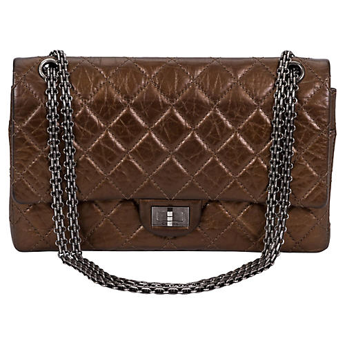 Chanel Bronze Double Flap Bag