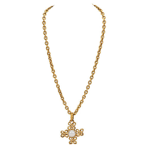 Chanel Cross Necklace, 1995
