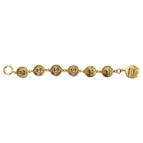 1980s Chanel Multi-Coin Bracelet