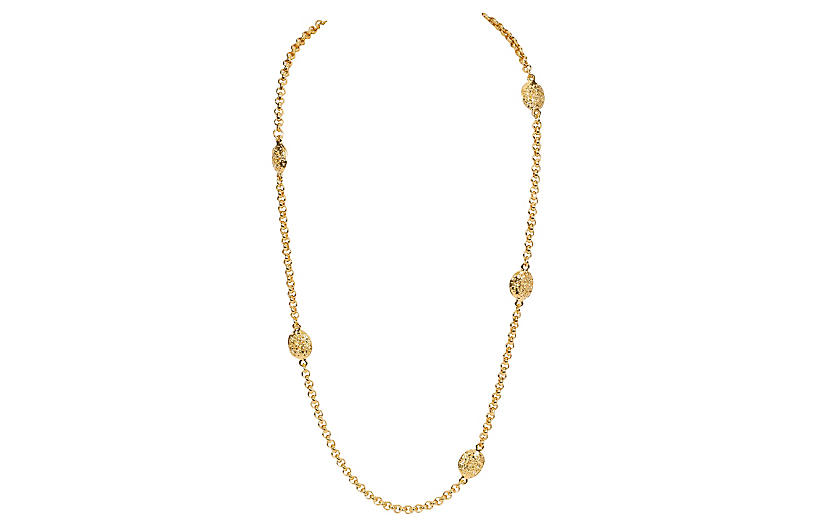 Chanel Goldtone Sautoir