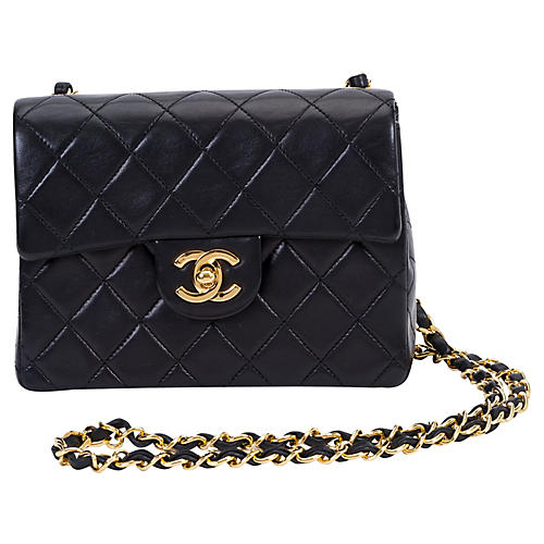 Chanel Black Mini Classic Flap Bag