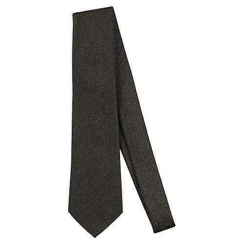 Louis Vuitton Black & Purple Print Tie