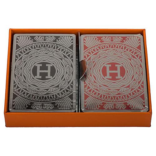 Hermès Double Deck Poker Cards