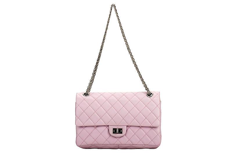 Chanel Pink Reissue Medium Double Flap