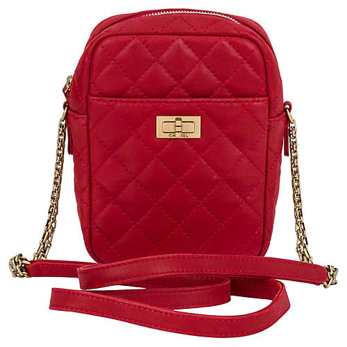 Chanel Red Reissue Cross-Body Bag
