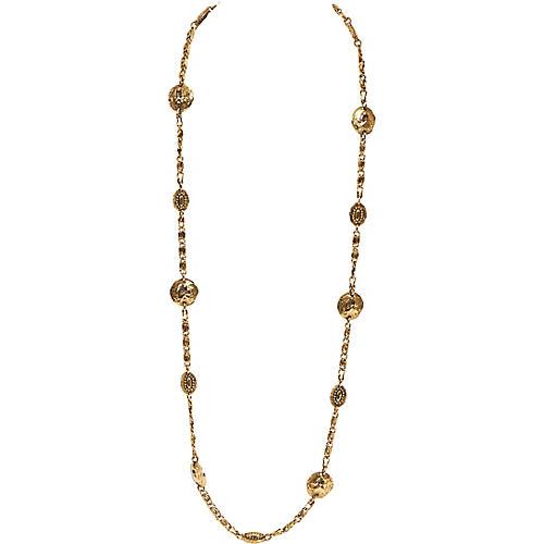 Chanel Lion Coin Sautoir Necklace