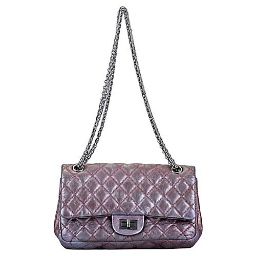 Chanel Metallic Lavender Reissue Flap