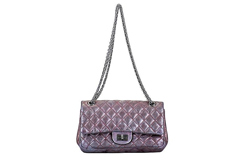 Chanel Metallic Lavender Reissue Flap