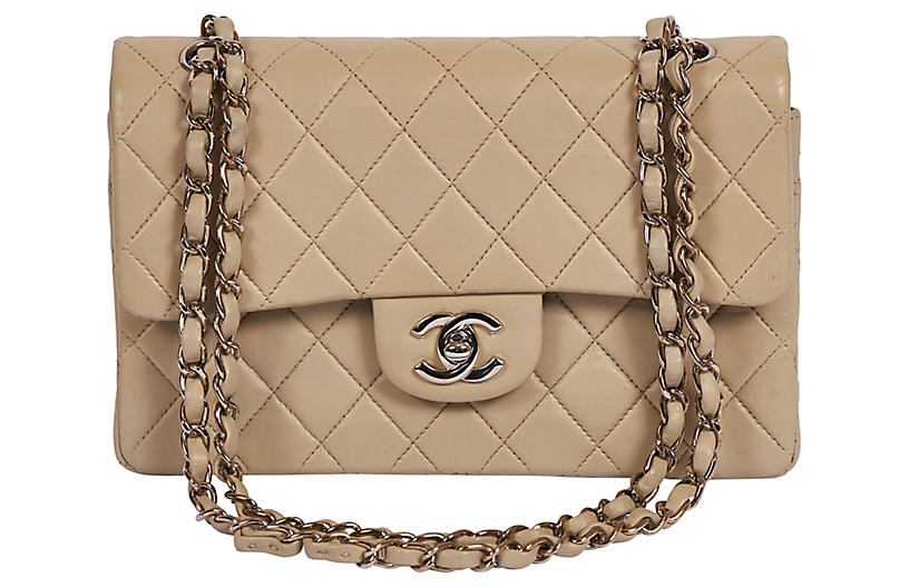 Chanel Gray/Cream 9