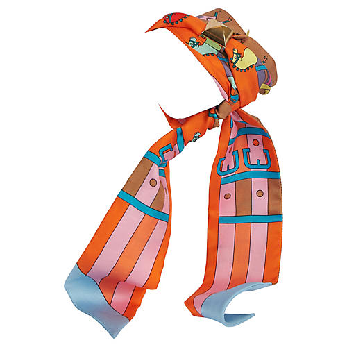 Hermes Orange Dressage Horses Twilly