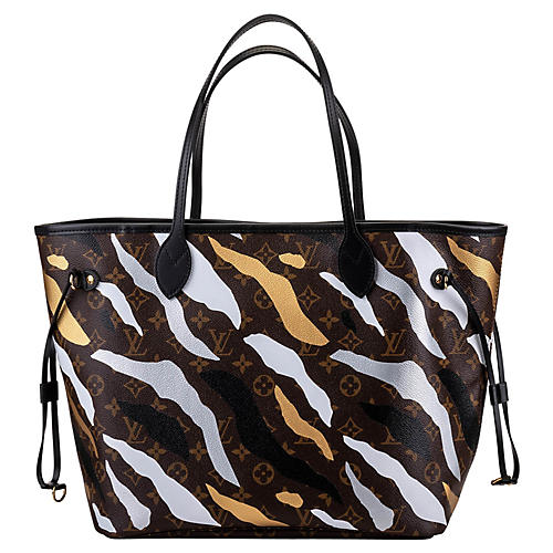 Louis Vuitton Camouflage Neverfull Bag