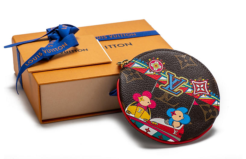 Vuitton Funfair Round Coin Case