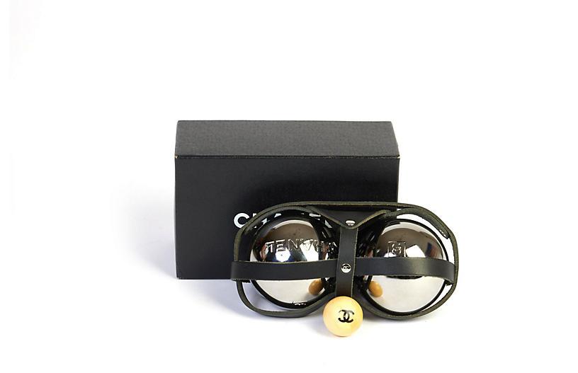Chanel Collectible Bocce Ball Set W/ Box