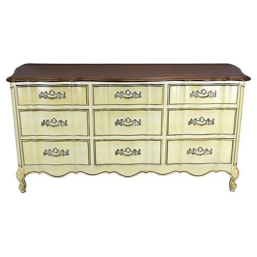 French 9-Drawer Dresser