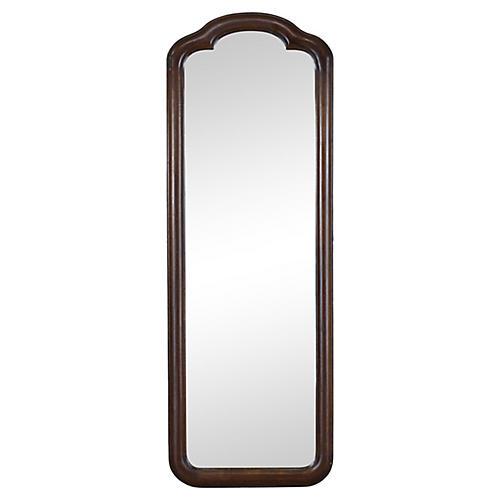 Mid Century Walnut Wall Mirror