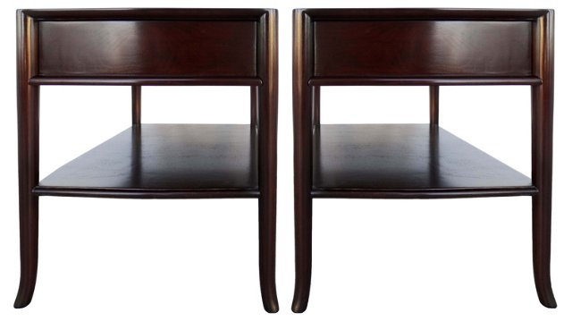 Robsjohn-Gibbings Side Tables, Pair