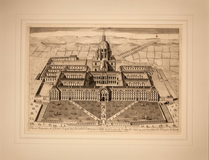 17th-C. French Perspective View