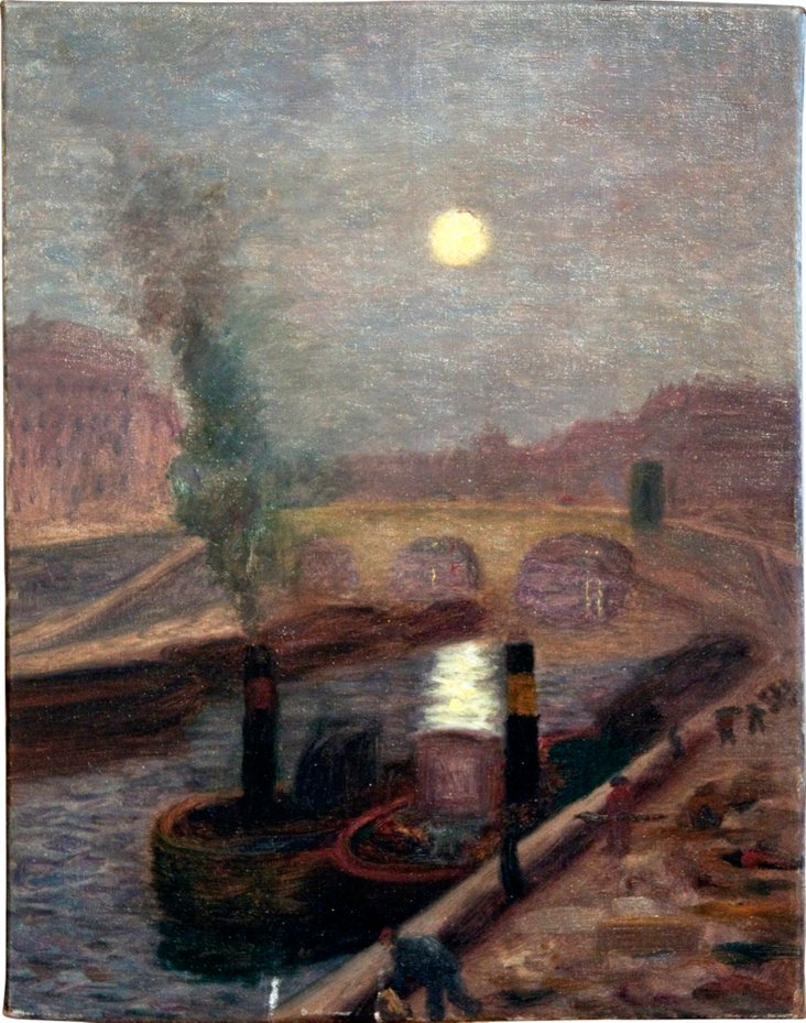 Moonlight over the Pont Neuf