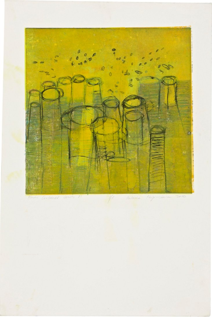 Monotype Print, Containers