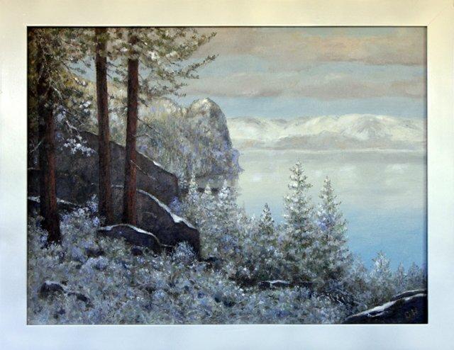 Morning Frost, Lake Tahoe