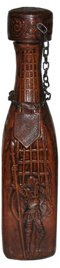 Leather Covered Spanish Bottle