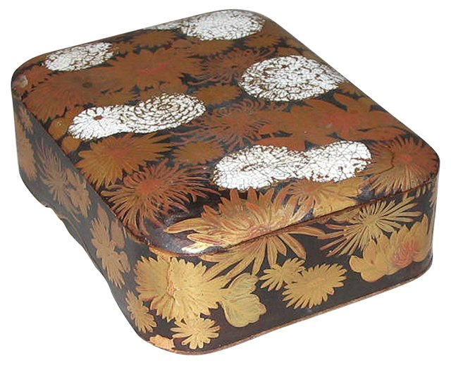 Japanese Lidded Lacquer Box
