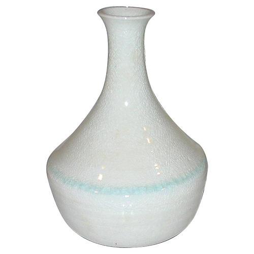 Pale Celadon Porcelain Vase