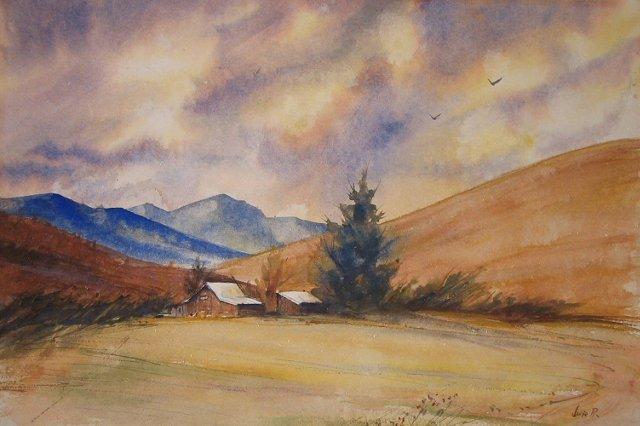 Sunset at Blue Mountain
