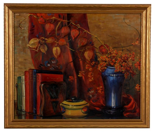 Still Life in Red, C. 1920