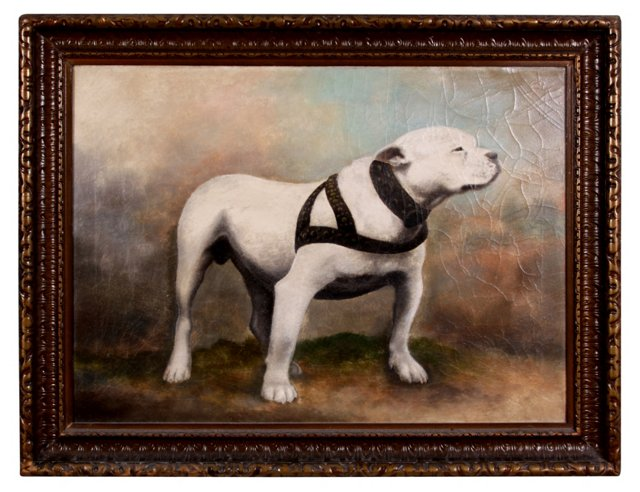 19th-C. American Bulldog