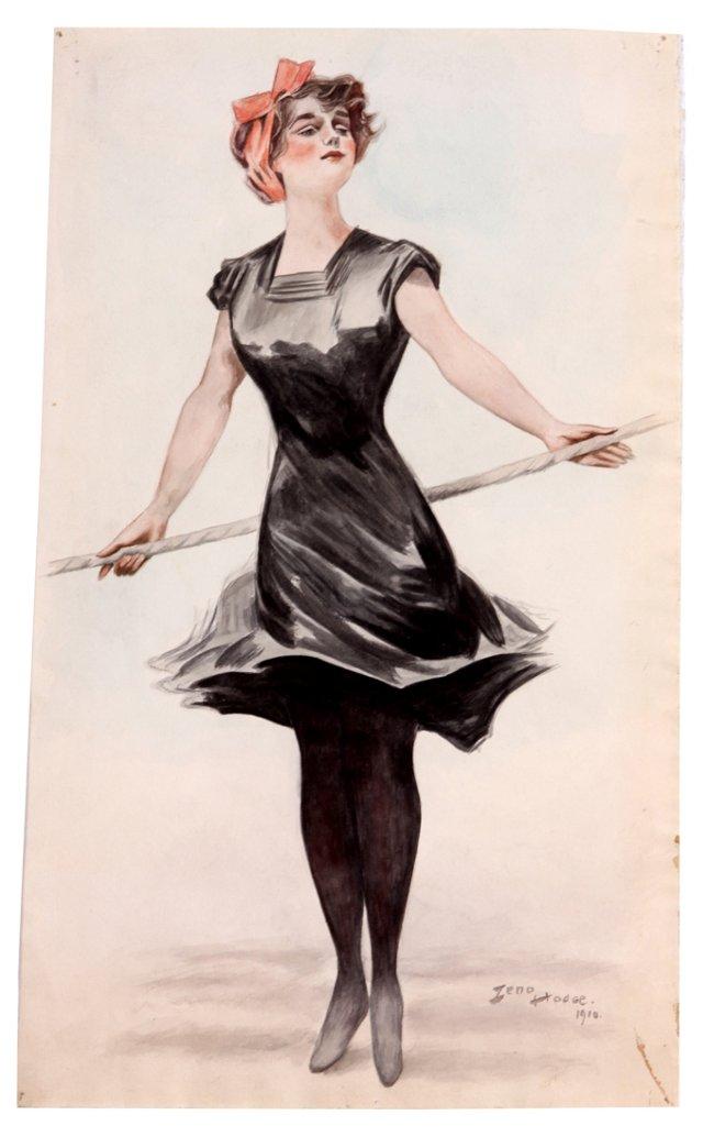 Tightrope Walker, 1910