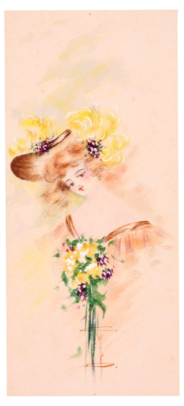 Yellow Bouquet, C. 1910