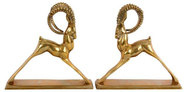 Brass Ibex, Pair
