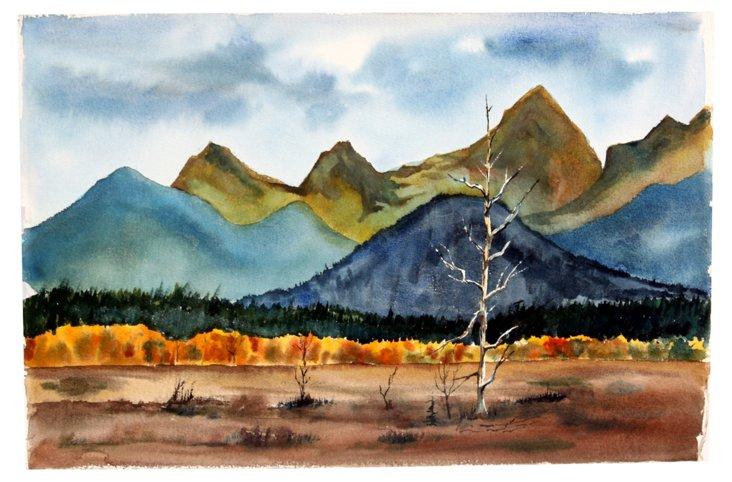 Mountain Range   Impressions