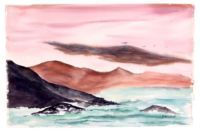 Watercolor   Seascape
