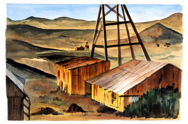 Western Oil Town