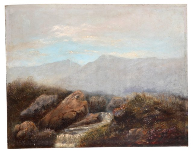 Mountainside Brook, 1886